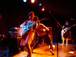 Tuscadero - Tuscadero playing a reunion show in 2010