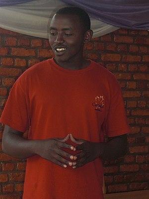 Tutsi - Charles, a Tutsi man.