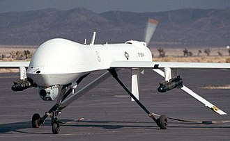Military robot - Armed Predator drone