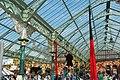 Tynemouth Station, and acrobat - geograph.org.uk - 1467150.jpg