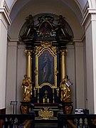 Tyniec - Klasztor - Ołtarz boczny.jpg