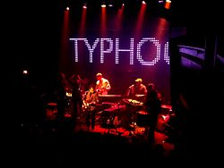 Typhoon playing at the Venue in Vancouver (January 2014)
