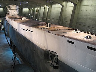 German submarine <i>U-510</i> German type IX C world war II submarine