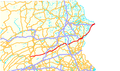 U.S. Route 209 (PA) map.png