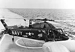 UH-2B of HU-1 on USS Chicago (CG-11) in August 1965.jpg