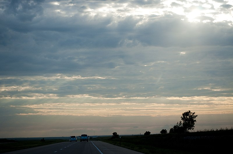File:US-KS - Pillsbury Crossing - North America - Sunset - Road Trip - Great Plains - Kansas (4892166426).jpg