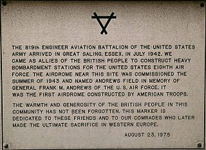 USAAF memorial plaque Andrewsfield geograph.org.uk 577252 a4d4bc11-by-Glyn-Baker.jpg