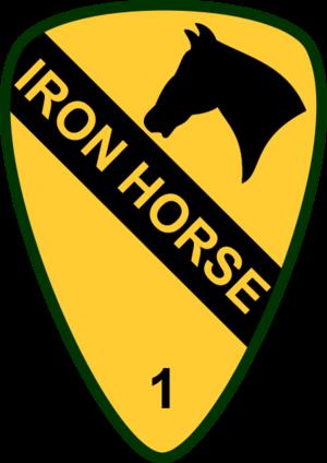 1st Brigade Combat Team, 1st Cavalry Division (United States) - Image: USA 1st Cavalry 1st Brigade
