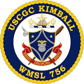 USCGC Kimball (WMSL-756) - Image: USCGC Kimball (WMSL 756) symbolism
