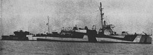 Convoy ON 67 - USS Lea