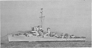 USS Gendreau (DE-639) underway, circa in 1947