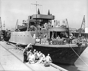 The Trefoil, when she was known as the Midnight in 1944