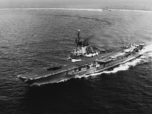 USS Midway (CV-41) - Midway in 1965 after SCB-110