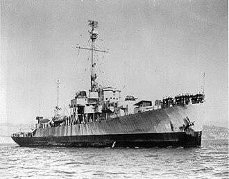 USS Moberly (PF-63) - Image: USS Moberly PF 63