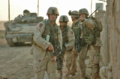 US Army captain directs soldiers in Fallujah clearing operations, 15 November 2004.webp