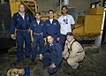 US Navy 050106-N-9951E-054 The team of workers diagnosed and repaired the emergency diesel power generator behind the main hospital in Banda Aceh, Sumatra, Indonesia.jpg