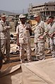 US Navy 060820-N-3884F-048 Commanding Officer of Combined Joint Task Force Horn of Africa (CJTF HOA), Rear Adm. Richard Hunt, tours the tent city being constructed by U.S. Navy Seabees.jpg