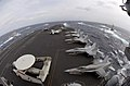 US Navy 070318-N-7130B-590 Ships assigned to Ronald Reagan Carrier Strike Group and Japan Maritime Self-Defense Force (JMSDF) steam in formation during a photo exercise (PHOTOEX).jpg