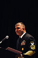 US Navy 080115-N-9818V-164 Master Chief Petty Officer of the Navy (MCPON) Joe R. Campa Jr. speaks to attendees of the annual Surface Navy Association National Symposium held at the Hyatt Regency in Crystal City, Va.jpg