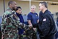 US Navy 101122-N-7883G-038 Actor Gary Sinise speaks with Sailors at the armory at Naval Special Warfare Center. Sinise spent the day touring vario.jpg
