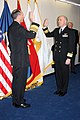 US Navy 111118-N-AN650-001 Adm. Jonathan Greenert, Chief of Naval Operations, left, promotes Rear Adm. Matthew L. Nathan, commander of Navy Medici.jpg