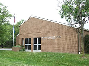 Shady Side, Maryland - The U.S. Post Office at Shady Side in May 2010