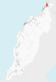 Ubicación de Linteiros (en rojo) en el municipio de Porto do Son.png