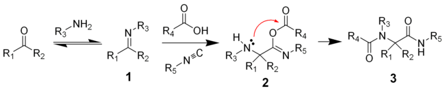 Ugi Reaction Mechanism.png