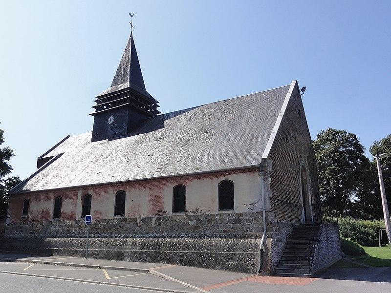 Ugny-le-Gay (Aisne) église Saint-Martin