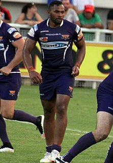 Ukuma Taʻai Tongan rugby union and rugby league footballer