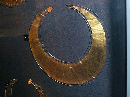 Bronze Age Gold Lunula