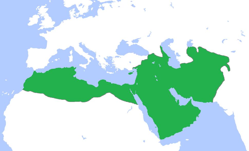 Umayyad Caliphate in 710