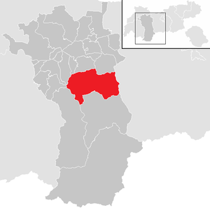 Umhausen - Image: Umhausen im Bezirk IM