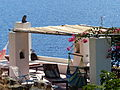 Una terraza, Isla de Alicudi, Islas Eolias, Sicilia, Italia, 2015.JPG