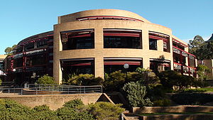 University of Wollongong - The McKinnon Building at the Wollongong Campus, named after former Vice-Chancellor Ken McKinnon