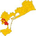 Unione di comuni Città della Riviera del Brenta-mappa comuni.png