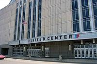 Lo United Center di Chicago, casa dei Bulls dal 1994, soprannominato