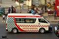 United Hospitals Bangladesh Toyota H200 ambulance. (31931324563).jpg