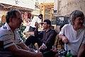 Urban Landscape and Scenes of Everyday Life, Damascus (دمشق), Syria - Coffeehouse near Ummayad Mosque - PHBZ024 2016 1391 - Dumbarton Oaks.jpg