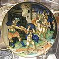 Urbino, giulio da Urbino, piatto con allegoria politica, 1534.JPG