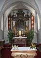 Vöcklabruck - Pfarrkirche, Altar2.JPG