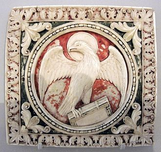 Eagle (heraldry) - Image: VA23Oct 10 096 crop