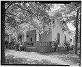 VIEW OF FRONT AND WEST SIDES - Ernest E. Hart House, 4828 West Fayetteville Road, College Park, Fulton County, GA HABS GA,61-COPK,6-20.tif