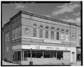 VIEW OF WEST FRONT - Smart Block, 6 Main Street, Montello, Marquette County, WI HABS WIS,39-MONT,2-3.tif