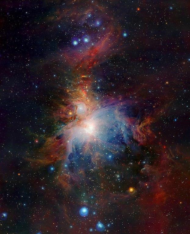 Туманность Ориона в видимом свете