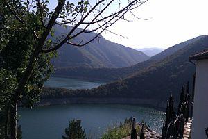 Vacha Reservoir - Image: Vacha Dam