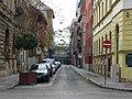 Vajdahunyad utca a Práter utca felé nézve és a Nap utca sarka, 2017 Józsefváros (6).jpg