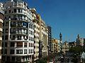 València, País Valencià, plaça de l'Ajuntament.JPG
