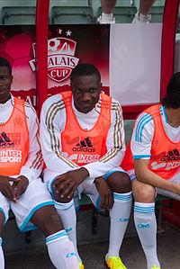 Valais Cup 2013 - OM-FC Porto 13-07-2013 - Achille Anani.jpg