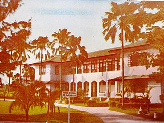 Central Philippine University - The Valentine Hall which was built in honor of the founding father of Central William Valentine, was used to be the administration and main school building where lectures are held of Central.